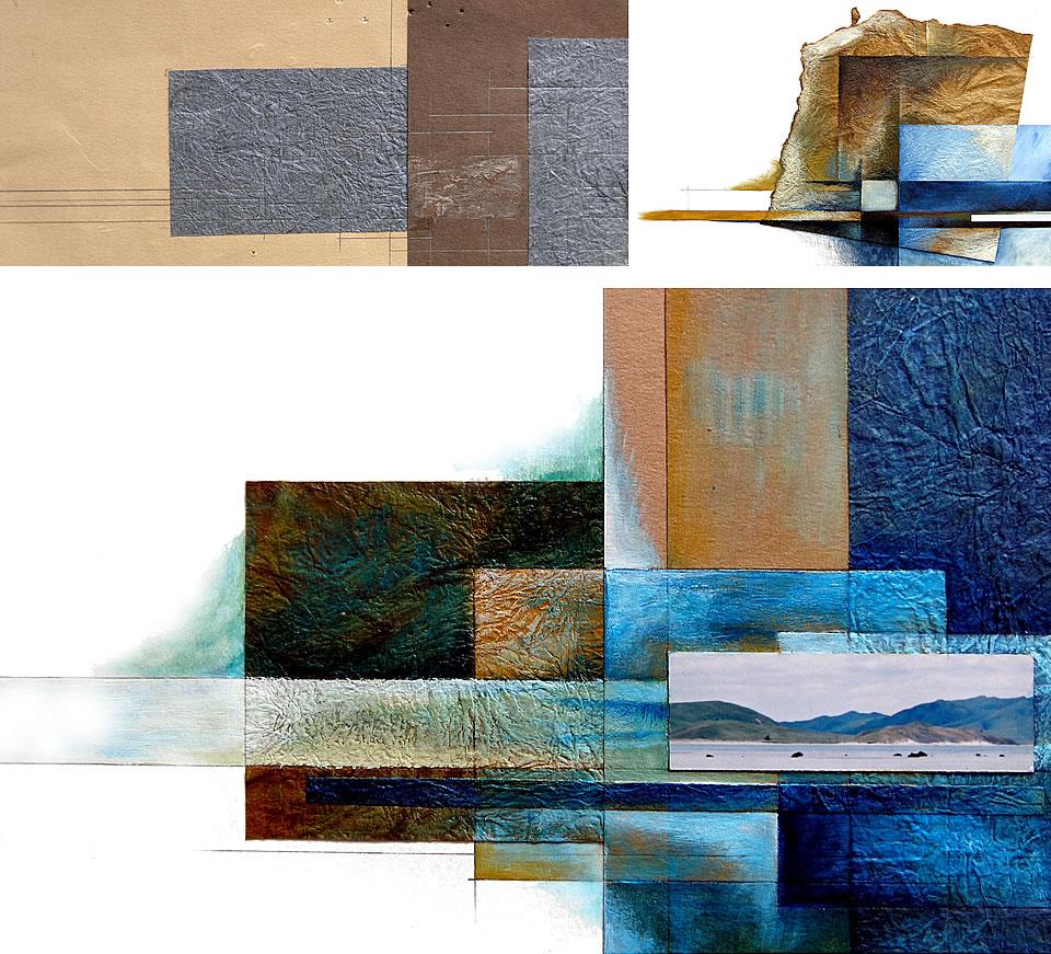 Composition plan art