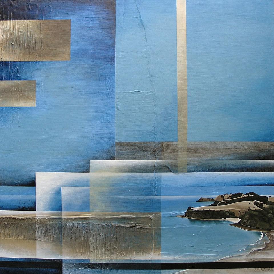 Seascape art by Amiria Gale