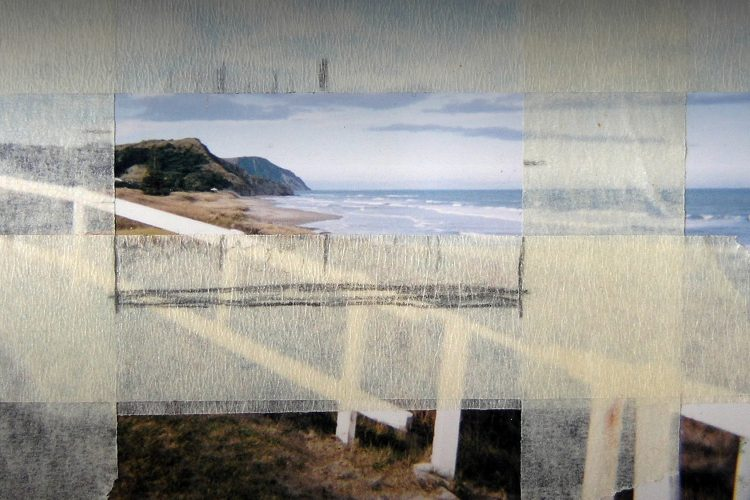 Beach paintings by Amiria Gale