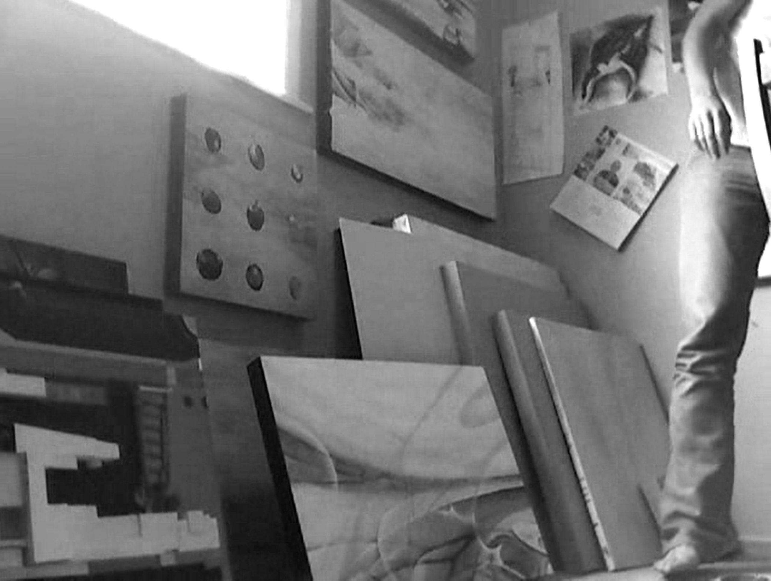 Amiria Gale's painting studio