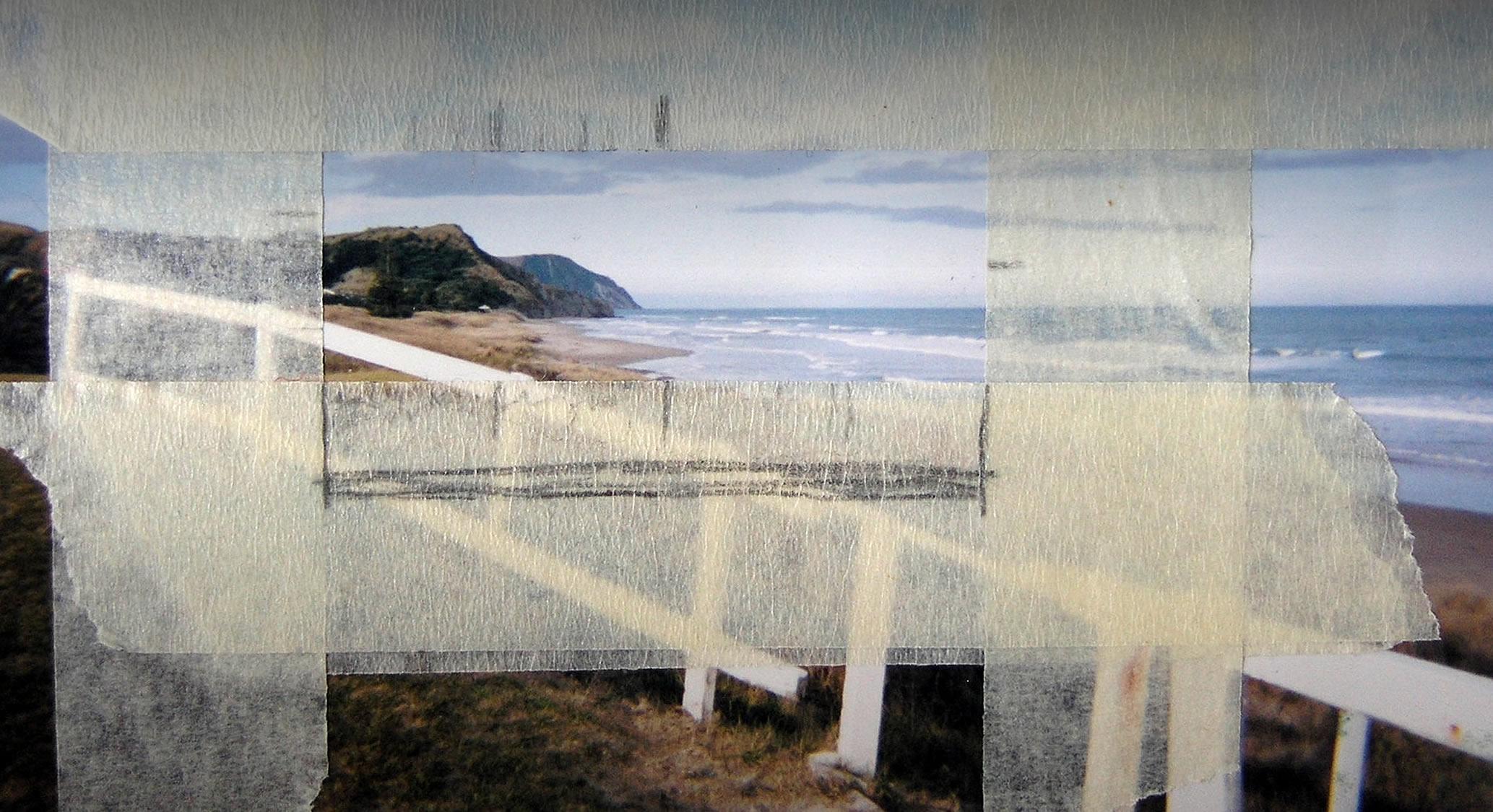 Beach paintings by Amiria Gale
